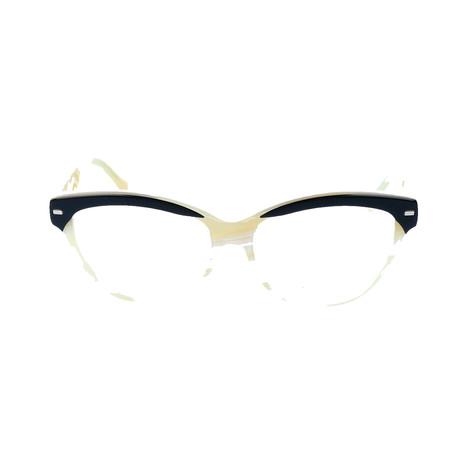 Women's BA5010 Optical Frames // Black + Cream