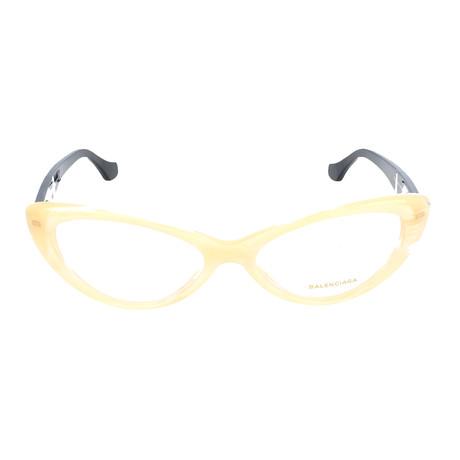 Women's BA5013 Optical Frames // Beige Horn