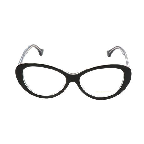 Women's BA5044 Optical Frames // Black + Crystal