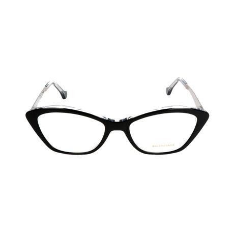 Women's BA5040 Optical Frames // Black + Crystal