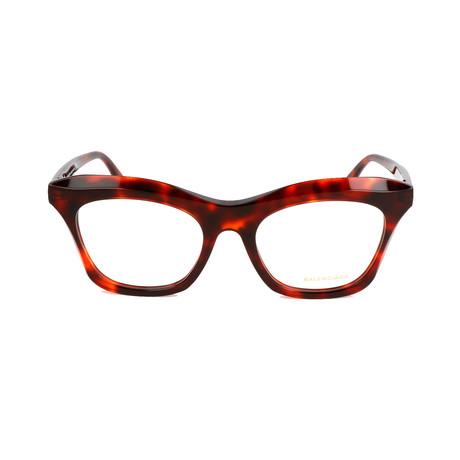 Women's BA5075 Optical Frames // Red Havana