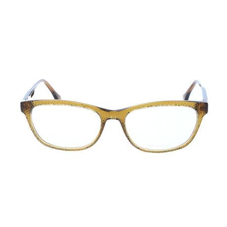 Women's BA5037 Optical Frames // Shiny Light Green