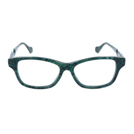 Women's BA5038 Optical Frames // Dark Green