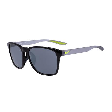 Unisex Flare EV1179 Sunglasses // Black + Silver