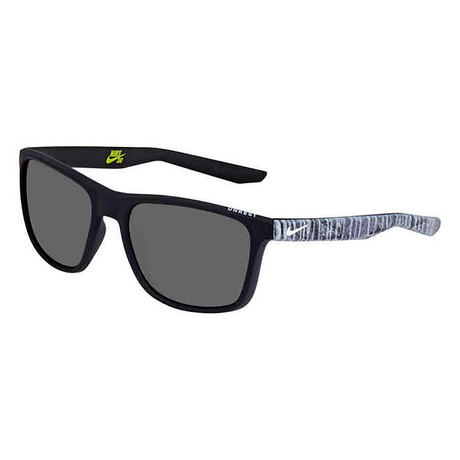 Unisex Unrest EV0922 Sunglasses // Black + White + Gray