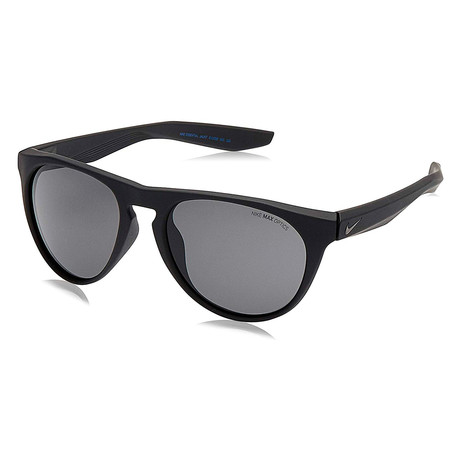Unisex Essential Jaunt EV1008 Sunglasses // Matte Black + Dark Gray