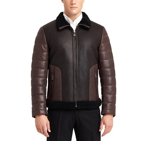 Smith Leather Jacket // Brown (S)