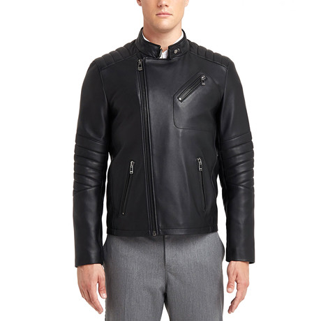 Julio Biker Leather Jacket // Black (S)