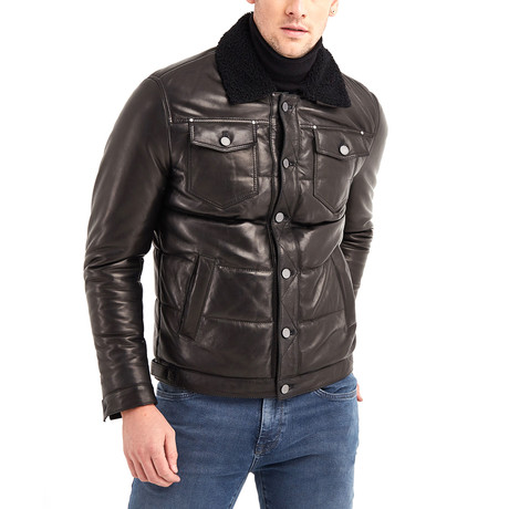 Gregory Leather Jacket // Black (S)