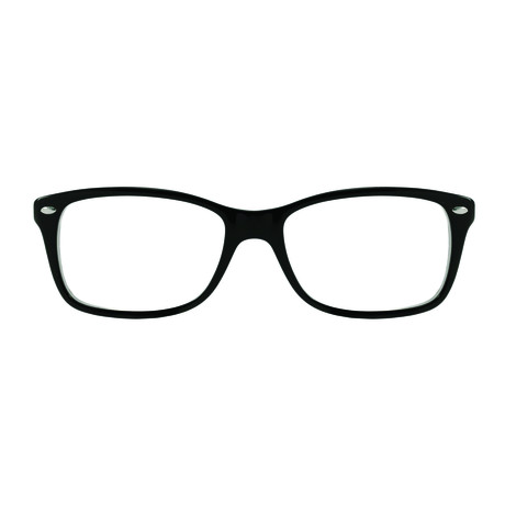 Ray-Ban // Men's Wayfarer Optical Frames // Black + Red + White