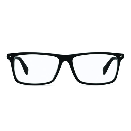 Fendi // Men's Rectangle Optical Frames // Black