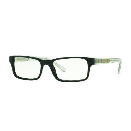 Burberry // Men's Rectangle Optical Frame // Black