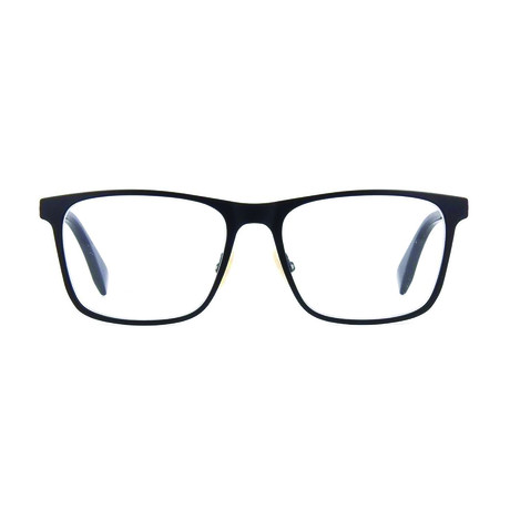 Fendi // Men's Metal Square Optical Frames // Black