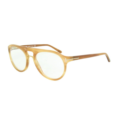 Tom Ford // Tom Ford Acetate Aviator Eyeglasses // Light Havana