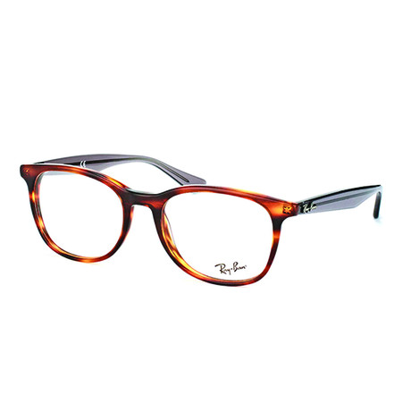 Ray-Ban // Men's 0RX5356 Classic Square Optical Frames // Tortoise