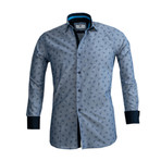 Reversible Cuff Button Down Shirt II // Denim Blue (L)