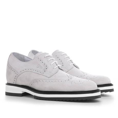 Cuba Derby Shoe // White (US: 7)