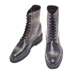 Nanjing Boot // Black + Dark Brown (US: 8.5)
