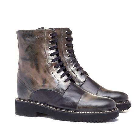 Nanjing Boot // Black + Dark Brown (US: 7)