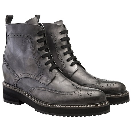 Shanghai Boot // Gray (US: 7)