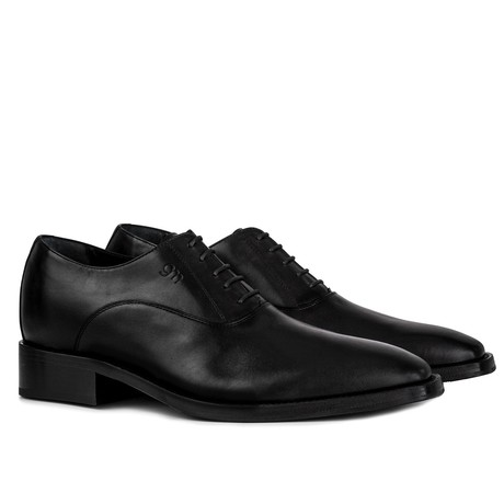Porta Romana Goodyear Oxford Shoe // Black (US: 7)