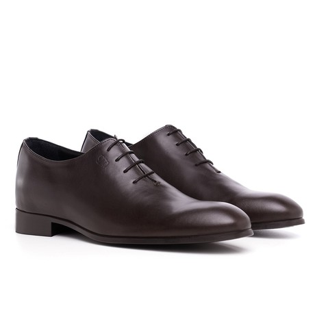 Piazza Duomo Oxford Shoe // Dark Brown (US: 7)