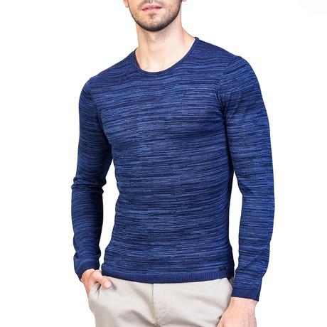 Hank Wool Sweater // Navy Blue (XS)