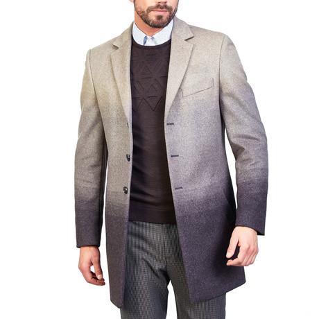 Nathan Wool Coat // Beige (XS)