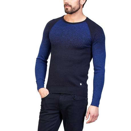 Rowan Wool Sweater // Navy Blue (XS)