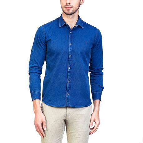 Noah Shirt // Navy Blue (XS)