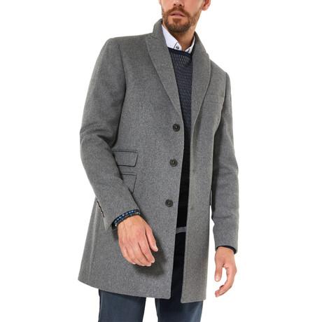 Shaffer Wool Coat // Gray (XS)