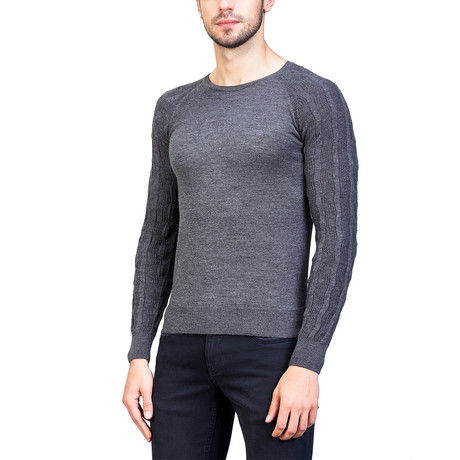 Benjamin Wool Sweater // Gray (XS)