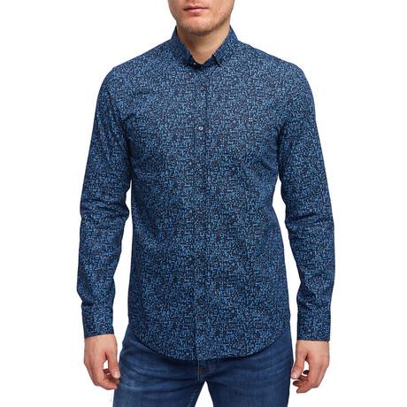 Lewis Shirt // Navy Blue (XS)