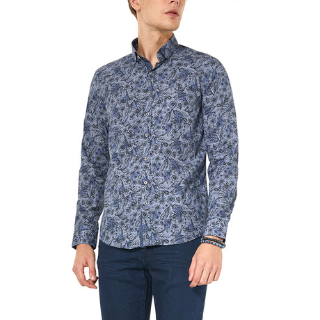 Simon Shirt // Navy Blue (XS)