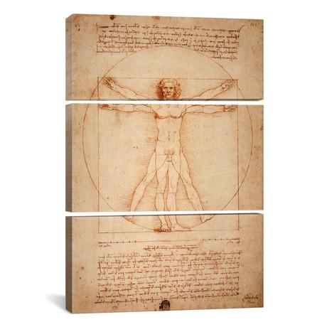 Vitruvian Man, c. 1490 // Leonardo da Vinci