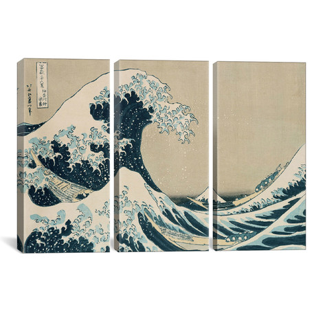 The Great Wave of Kanagawa, from the series `36 Views of Mt. // Katsushika Hokusai