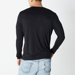 Versace Collection // Long Sleeve T-Shirt // Black (XS)