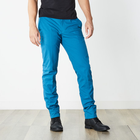 Versace Collection // Dress Pants // Blue (Euro: 46)