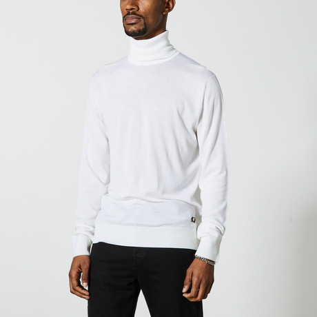 Versace // Turtleneck Sweater // Cream (XS)