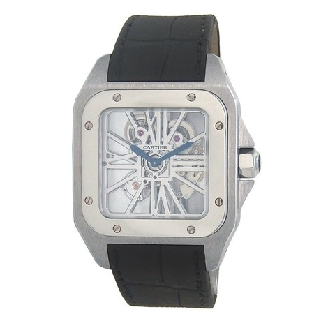 Cartier Santos 100 Manual Wind // W2020018 // Pre-Owned