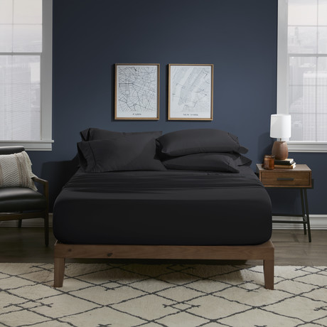 Ultra Soft 6 Piece Bed Sheet Set // Midnight (Twin)