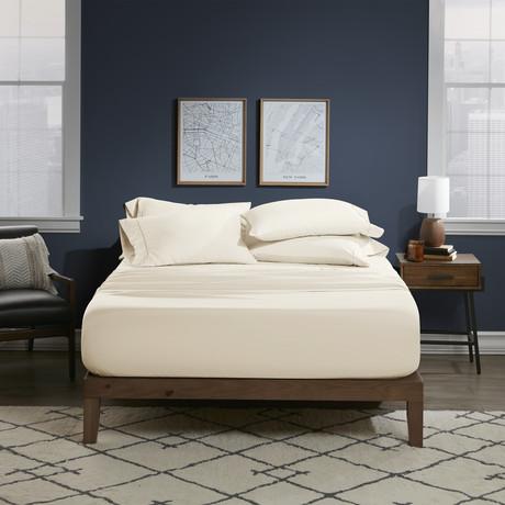 Ultra Soft 6 Piece Bed Sheet Set // Natural (Twin)