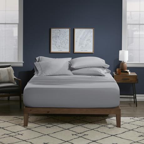 Ultra Soft 6 Piece Bed Sheet Set // Cool Gray (Twin)
