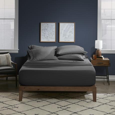 Ultra Soft 6 Piece Bed Sheet Set // Charcoal (Twin)