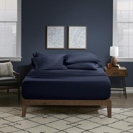 Ultra Soft 6 Piece Bed Sheet Set // Indigo (Twin)