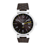 Louis Vuitton Tambour GMT Automatic // Q1155 // Pre-Owned