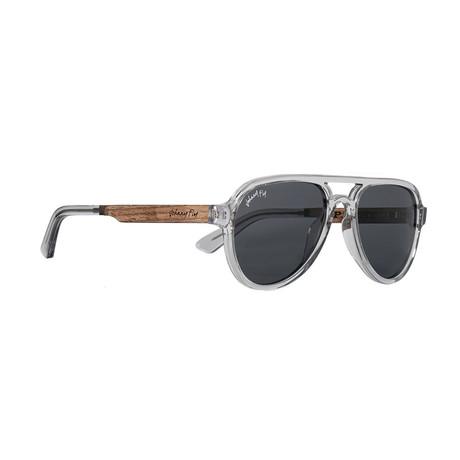 Apache Polarized Sunglasses // Tinted Crystal + Smoke