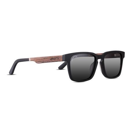Branch Polarized Sunglasses (Matte Black + Smoke)