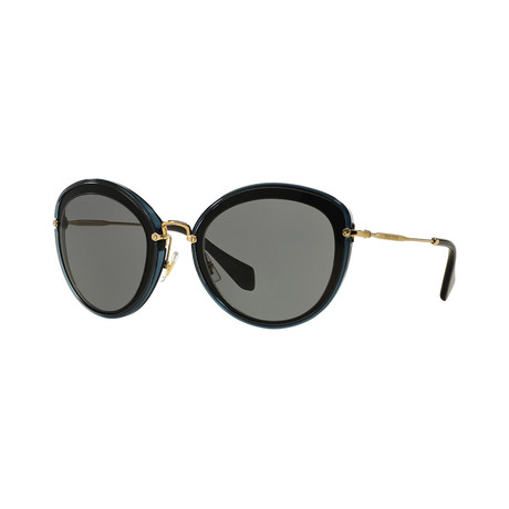 Miu Miu // Women's Sunglasses // Gray Black + Gray
