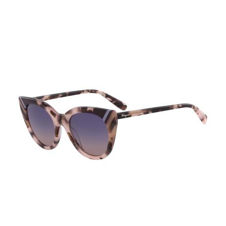 Women's Sunglasses // Havana Rose + Gray Gradient